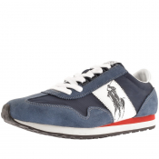 Product Image for Ralph Lauren Train 90 Trainers Navy