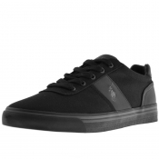 Ralph Lauren Hanford Canvas Trainers Black