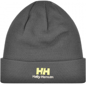 Helly Hansen Logo Beanie Grey