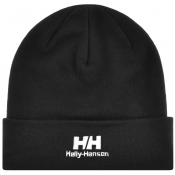 Helly Hansen Logo Beanie Black