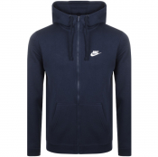Product Image for Nike Full Zip Club Hoodie Navy