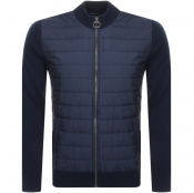 Product Image for Barbour Carn Baffle Knit Jumper Navy