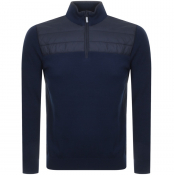 Product Image for Barbour Lundy Half Zip Knit Jumper Navy
