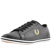 Fred Perry Kingston Leather Trainers Black