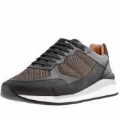 Product Image for BOSS HUGO BOSS Element Runn Trainers Black