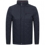 Product Image for Ted Baker Waymoth Quilted Jacket Navy