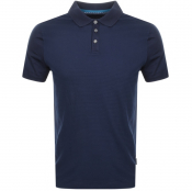 Ted Baker Dayja Polo T Shirt Navy