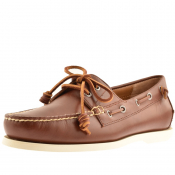 Ralph Lauren Merton Boat Shoes Brown