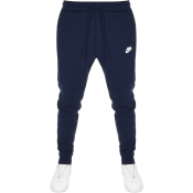 Nike Slim Fit Jogging Bottoms Navy