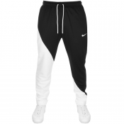 Nike Swoosh Logo Jogging Bottoms Black