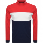 Product Image for Fila Vintage Long Sleeve Roll Neck T Shirt Red