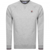 Product Image for Fila Vintage Pozzi Sweatshirt Grey