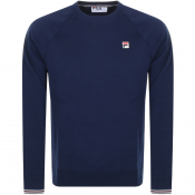 Product Image for Fila Vintage Pozzi Sweatshirt Navy