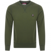 Product Image for Parajumpers Caleb Crew Neck Sweatshirt Green