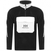 Helly Hansen Half Zip Pile Fleece Sweatshirt Black