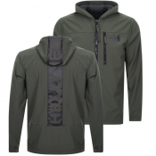 Helly Hansen Soft Shell Hooded Jacket Green
