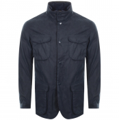 Product Image for Barbour Ogston Wax Jacket Navy