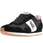 Ralph Lauren Train 90 Trainers Black