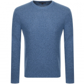 Product Image for Michael Kors Crew Neck Knit Sweatshirt Blue