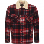 Product Image for Nudie Jeans Lenny Plaid Jacket Red