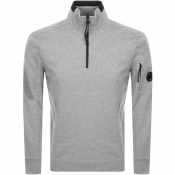Product Image for CP Company Half Zip Sweatshirt Grey