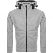 Product Image for CP Company Full Zip Goggle Hoodie Grey