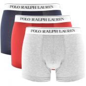 Ralph Lauren Underwear 3 Pack Boxer Trunks