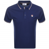 Product Image for Fila Vintage Matcho 4 Polo T Shirt Navy
