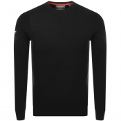 Product Image for Superdry Academy Crew Neck Knit Jumper Black