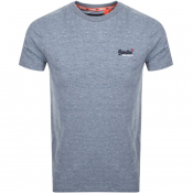 Superdry Vintage Short Sleeved T Shirt Blue