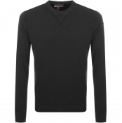 Product Image for Parajumpers Caleb Crew Neck Sweatshirt Black