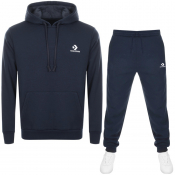 Product Image for Converse Star Chevron Logo Tracksuit Navy