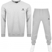 Product Image for Converse Star Chevron Logo Tracksuit Grey