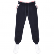 Moschino Logo Jogging Bottoms Navy