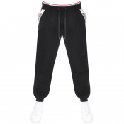 Moschino Logo Jogging Bottoms Black