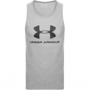 Under Armour Sportstyle Vest T Shirt Grey