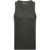 Under Armour Sportstyle Vest T Shirt Green