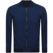 Product Image for Ralph Lauren Barcuda Varsity Bomber Jacket Navy