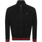 Ralph Lauren Fleece Track Jacket Black
