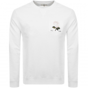 Product Image for Kent And Curwen 1926 Icon Sweatshirt White