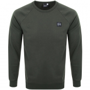 Under Armour Rival Crew Neck Sweatshirt Green