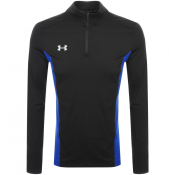Product Image for Under Armour Fitted Half Zip Sweatshirt Black