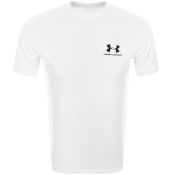 Under Armour Sport Style T Shirt White