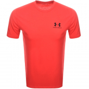 Under Armour Sport Style T Shirt Red