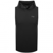 Under Armour Hodded Vest T Shirt Black