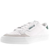 adidas Originals Continental Vulc Trainers White