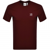 Product Image for adidas Originals Essential T Shirt Burgundy