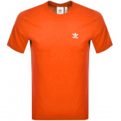 adidas Originals Essential T Shirt Orange