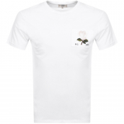 Kent And Curwen Rose T Shirt White