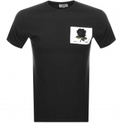 Kent And Curwen Rose T Shirt Black
